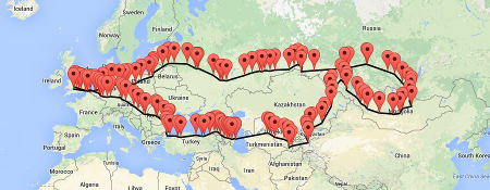 getting sms travel map tracking is easy